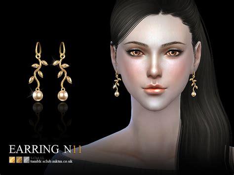 sims 4 mens earrings s club ll ts4 earring 11 f