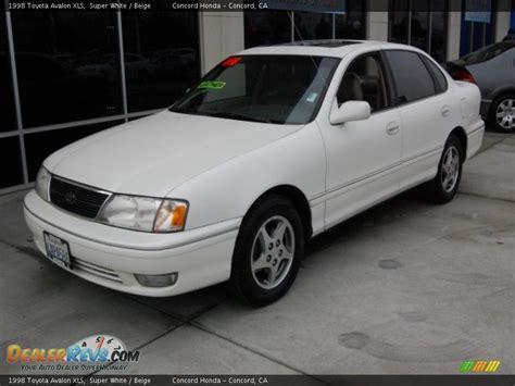 1998 Toyota Avalon Xls 1998 Toyota Avalon Xls White Beige Photo 7
