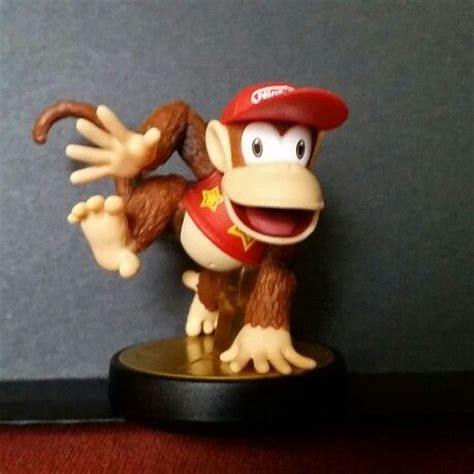 Supersmash Series Diddy Kong Amiibo 52 best images about amiibo on trainers