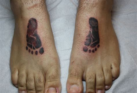 footprints tattoos footprint tattoos designs ideas and meaning tattoos for you