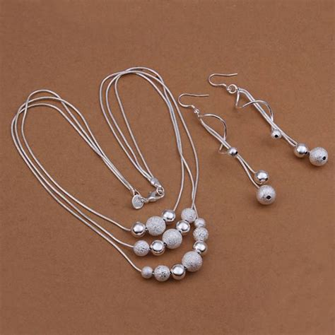 silver for jewelry wholesale aliexpress buy wholesale silver plated jewelry set