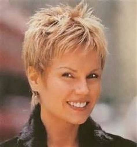 spiky haircuts for older women short spiky hairstyles for women