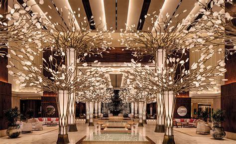 mandarin oriental jumeira lobby  designwilkes  dpa