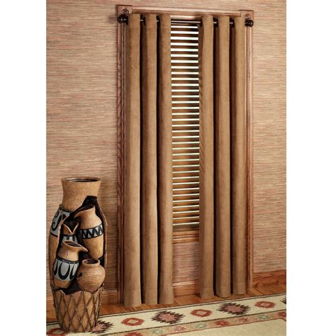 wildlife curtains canyon ridge grommet window treatment