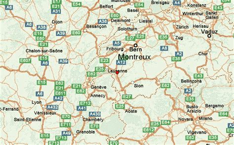 map of montreux montreux location guide