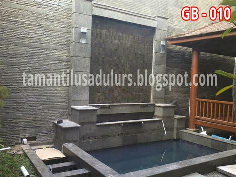 Lu Hias Depan Rumah taman tilusadulur kolam hias minimalis