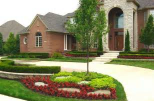 ideas landscaping ideas for front yard pictures of