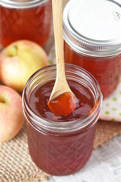 homemade apple jelly  pectin adventures  mel