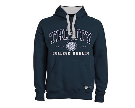 Design College Hoodie | trinity college seal hoodie unisex embroidered design