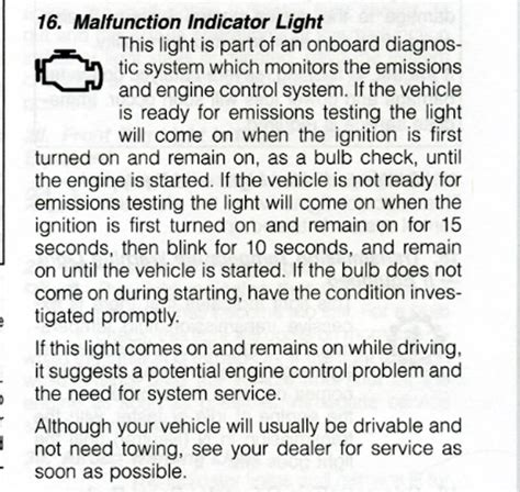 what does malfunction indicator l mean what does malfunction indicator light mean www