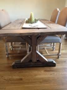 Classic Dining Room Tables buy a hand crafted fancy x farmhouse table with extensions