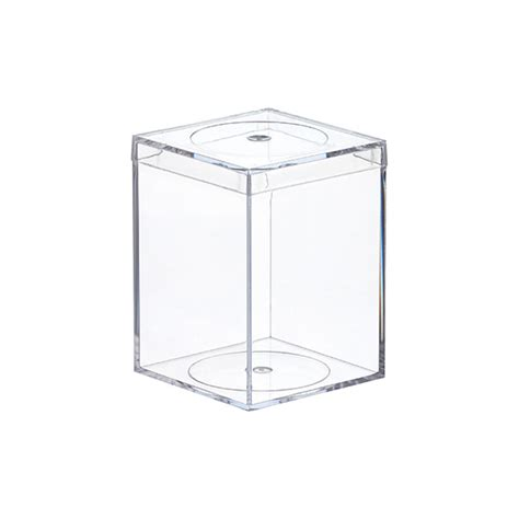 amac boxes clear flush lid amac boxes the container store