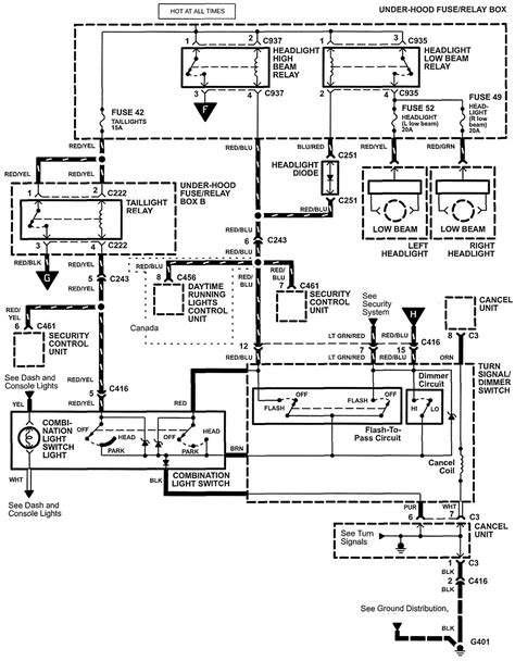chrysler headlight switch wiring diagram k