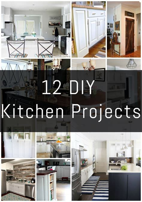 Diy Projects For The Kitchen by 12 Diy Kitchen Projects The Diy Series Erin