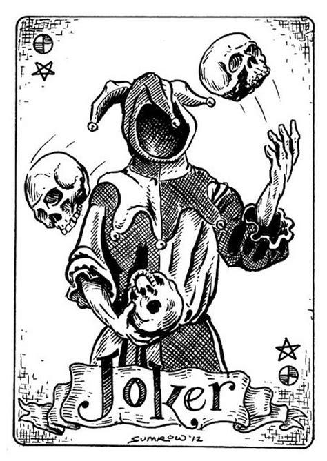 joker card tattoo designs 25 best ideas about joker card on