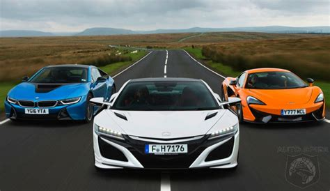 Bmw Vs Acura Car Wars Quite Possibly The Best Supercar Test Of 2016