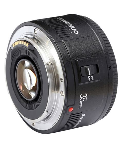 Yongnuo Yn 35mm F 2 Lens For Canon Ef Auto Focus Yongnuo Yn 35mm F 2 Lens For Canon Ef