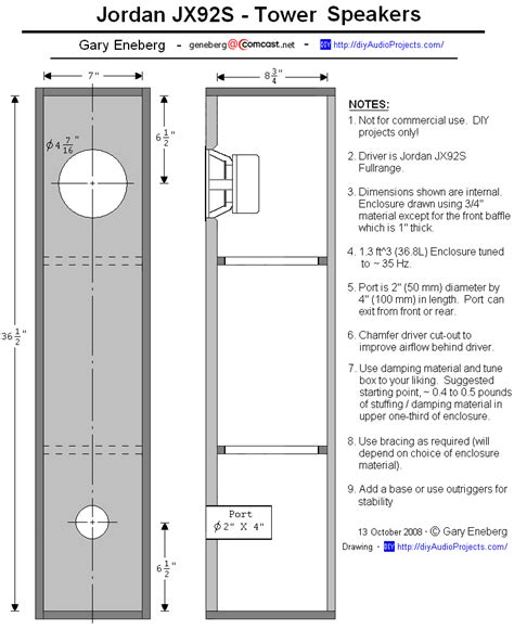 woodwork bass speaker cabinet plans pdf plans