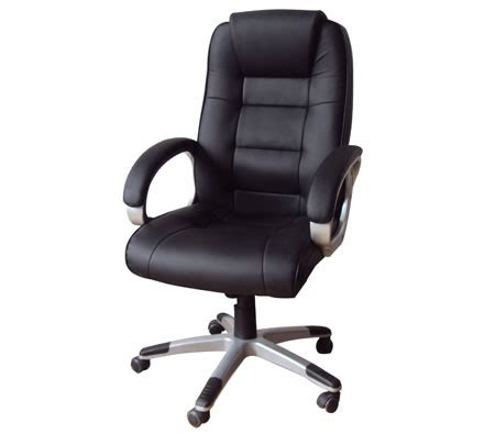 Shopping Chair by High Back Adjustable Pu Leather Executive Office Chair