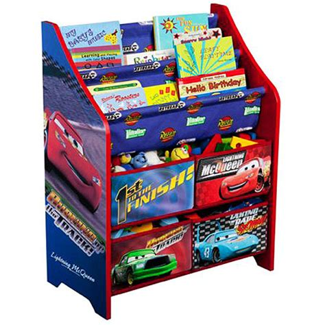 toys books disney cars book and organizer walmart