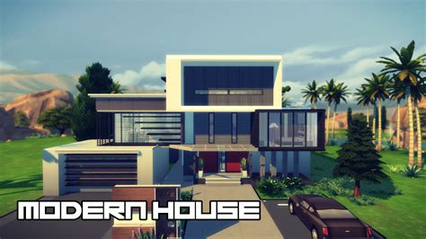 Luxury Tuscan House Plans modern house design the sims 4 youtube