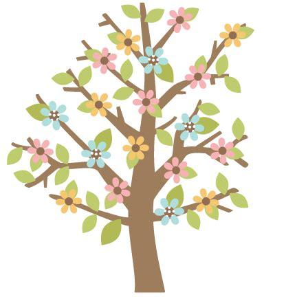 cute trees cute flower tree clipart 74