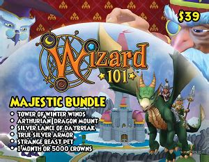 Majestic Gift Card - item majestic bundle gift card wizard101 wiki
