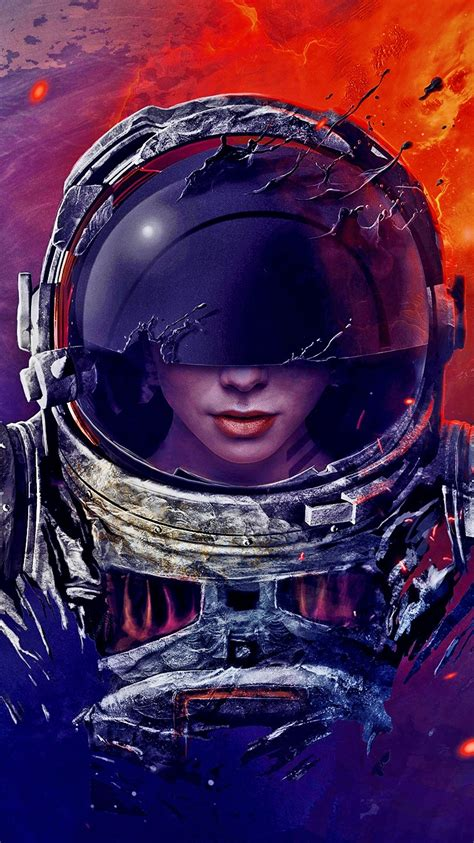 ghost astronaut artistic iphone wallpaper iphone wallpapers