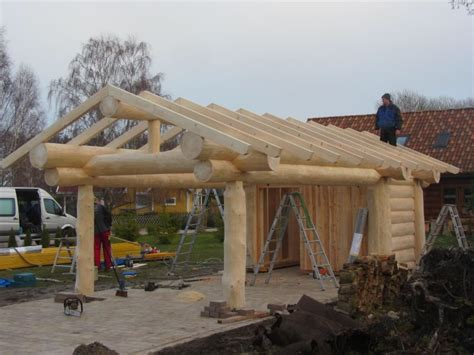 Pavillon Naturstamm by Naturstamm Carport Quot Post And Beam Quot In Ueckerm 252 Nde