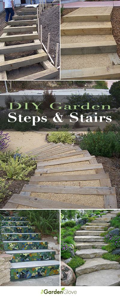 step by step diy garden steps and stairs the garden glove step by step diy garden steps and stairs the garden glove