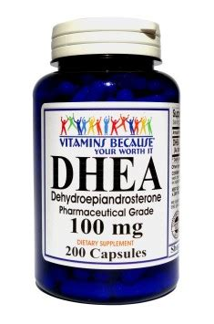 Vitamin Nutrisi Dhea 25mg 100 Capsul vitamins because dhea 100mg shop with best prices