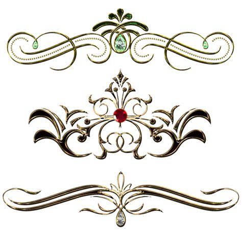 decorative pattern png vintage decor design by lyotta on deviantart
