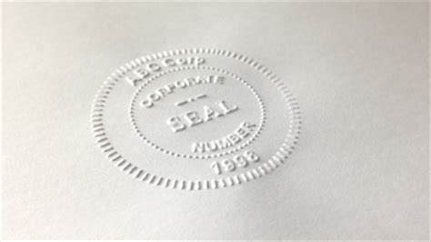 Embossing Seal St Or Electronically 28 Images Embossers Embossing Seals Custom Embossing Sts Seal St Template