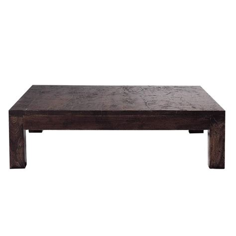 Solid Coffee Tables Solid Mango Wood Coffee Table W 120cm Bengali Maisons Du Monde
