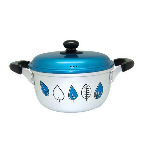 Panci Kembang panci potage sablon autumn leaves dh blue official web of logam jawa 174 maspion