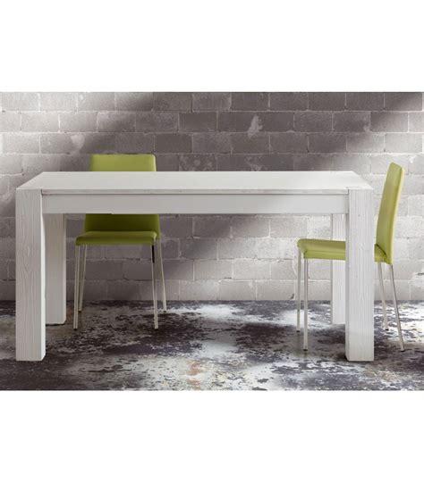 tavoli legno bianco tavolo in legno massello di abete spazzolato bianco