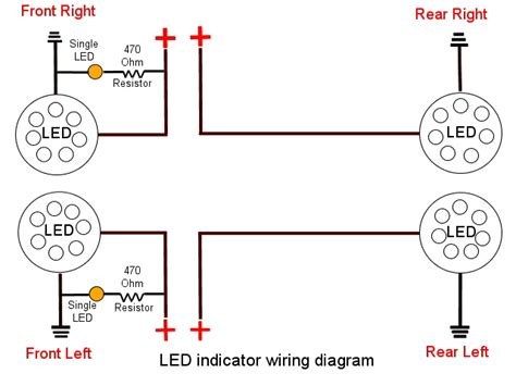 led resistor diagram indicator wiring diagram ground indicator the diagrams mifinder co