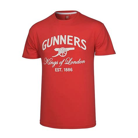 T Shirt Arsenal The Gunners arsenal of gunners t shirt official