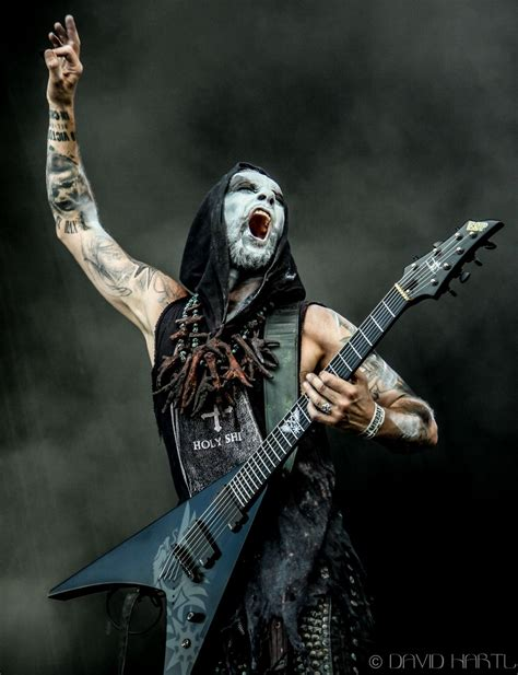 Band Band Band And Band nergal from the band behemoth black metal