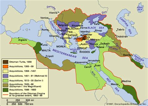 Ottoman Empire Map 1500 Resourcesforhistoryteachers Whi 10