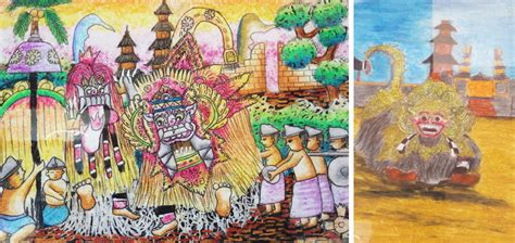 Lukisan Tradisi Kremasingaben Bali museum pasifika di bali lebih dari sekadar wisata edukasi kompasiana