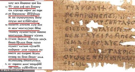 proof jesus was married found on ancient papyrus that new evidence emerges authenticating lost gospel mentioning