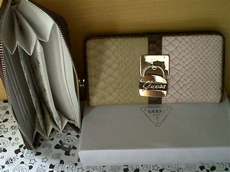 Tas Kw1 Guess Limit 2 tas dompet import branded aigner guess kw1 levis lv