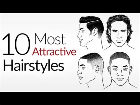 10 most attractive men's hair styles | top male hairstyles