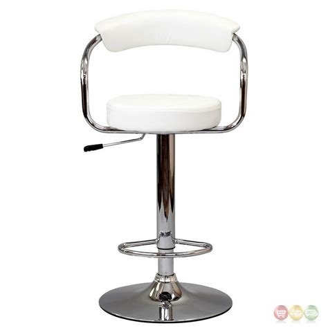 Bar Stool Foot Rest by Diner Modern Upholstered Bar Stool W Back Foot Rest In