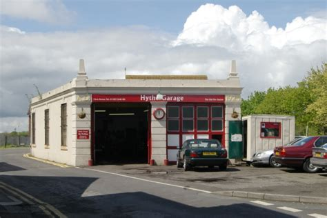 Hythe Garage by Hythe Station 169 Kevin Hale Geograph Britain