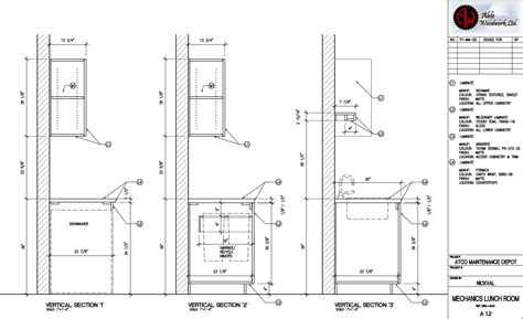 Millwork Shop Drawings Freelance Architectural Design