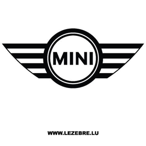 Emblem Mini Cooper Europe mini cooper logo decal