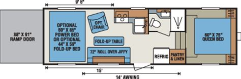 kz toy hauler floor plans 2016 sportsmen sportster travel trailer fifth wheel toy