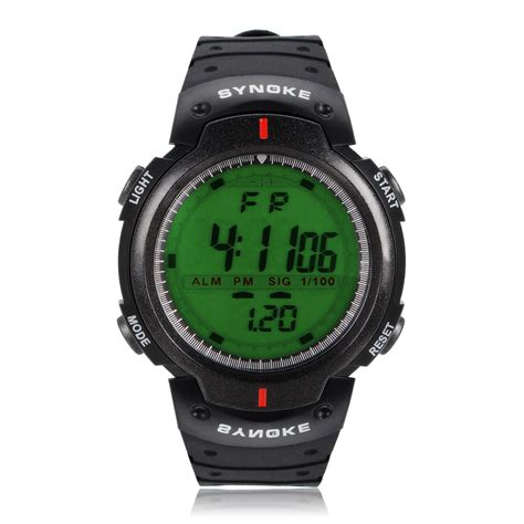 cool men s outdoor backlight waterproof sports digital